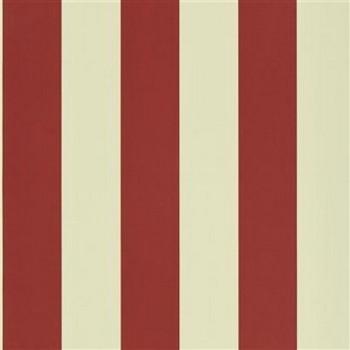 Spalding Stripe - Red/Sand