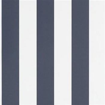 Spalding Stripe - Navy/White
