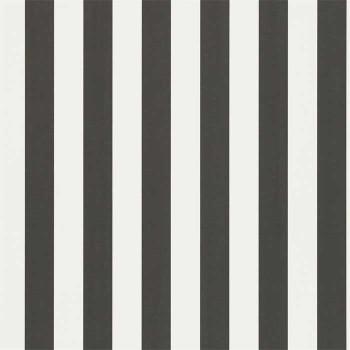 Mimi Stripe Black White