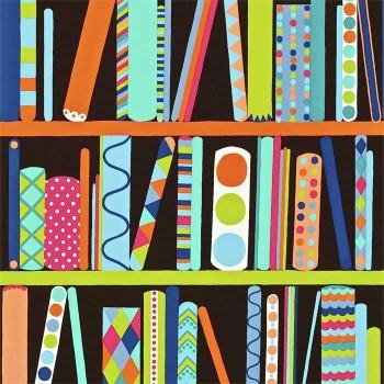 All My Books Black Bright Multi