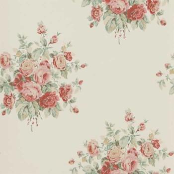 Wainscott Floral Cream