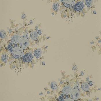 Wainscott Floral Vintage Blue