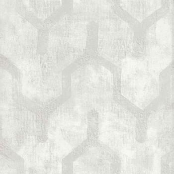 Papier peint Ténébreuse Blanc - Vertige - Casamance