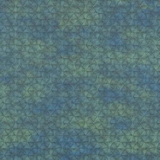 Papier peint Irony Bleu Topaze - Shadows - Casamance