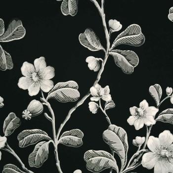 Papier peint Broadwick St Midnight - LITTLE GREENE