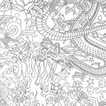 Papier peint Horimono Argent Jean-Paul Gaultier