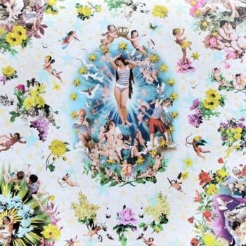 Papier peint Récréation Multicolor Jean-Paul Gaultier