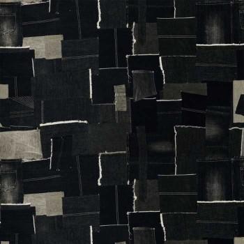 Tissu Patch graphite