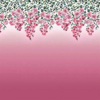 Tissu Trailling Rose Peony