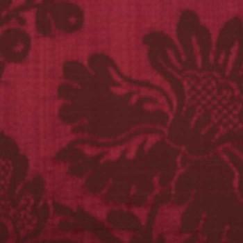 Tissu Eloise Rubicond
