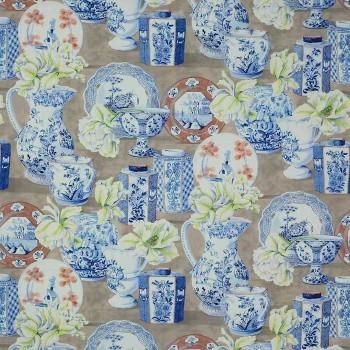 Tissu Anvers Bleu