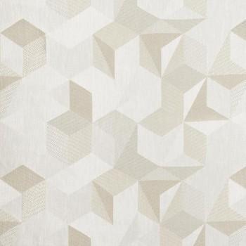 Tissu Tiles Beige Vapeur
