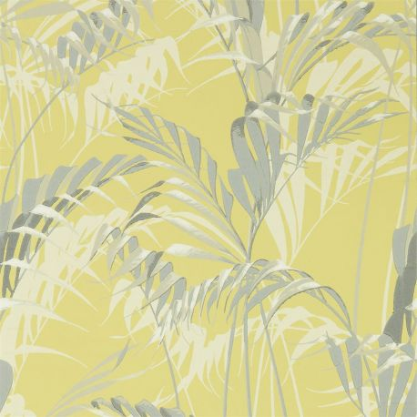 Palm House Chartreuse / Grey