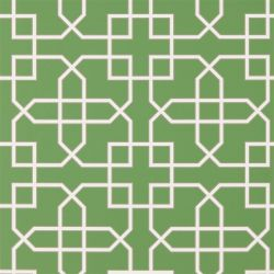 Hampton Trellis Botanical Green