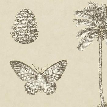 Cocos Linen/Charcoal