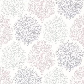 Coral Reef Teal/Mauve