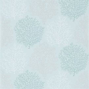 Coral Reef Aqua/Silver