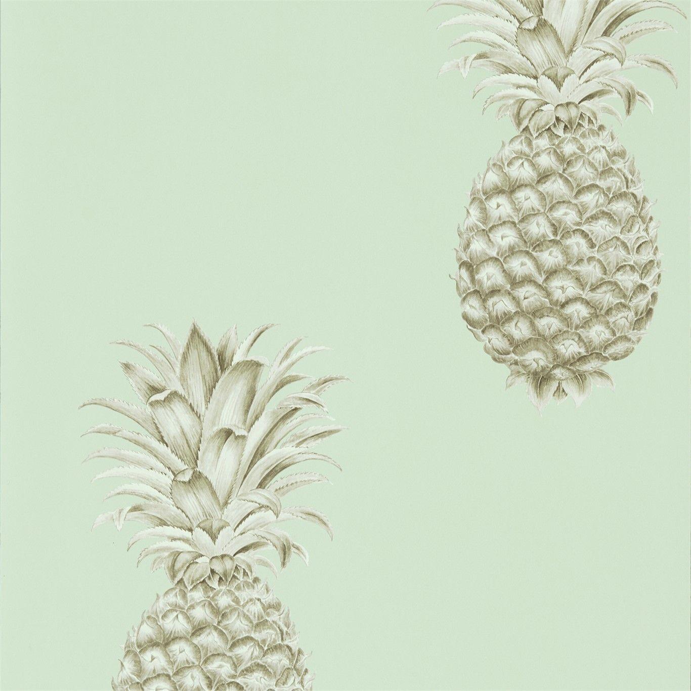 Pineapple Royale Porcelain / Sepia